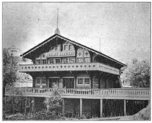 Swiss Chalet at World's Fair (1)